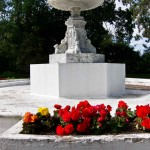 Disused Marble Fountain in the Oamaru Gardens (Gardens and Flora Gallery)